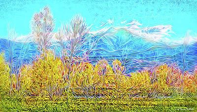 Digital Art - Peaceful Clarity by Joel Bruce Wallach