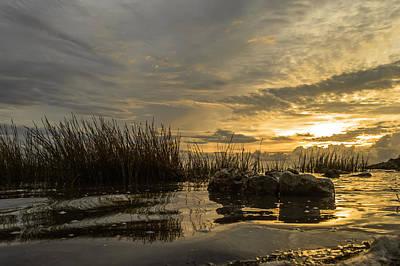 Photograph - Peaceful Clouds by Leticia Latocki