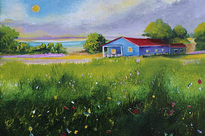 Painting - Peaceful Day by Alicia Maury