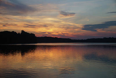 Photograph - Peaceful Deer Creek Sunrise by Mike Murdock