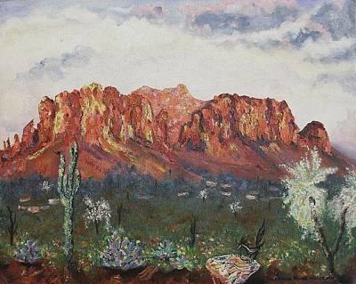 Peaceful Desert Art Print