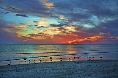 Photograph - Peaceful Endings by HH Photography of Florida