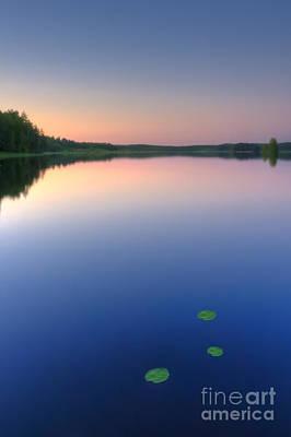Peaceful Evening Print by Veikko Suikkanen