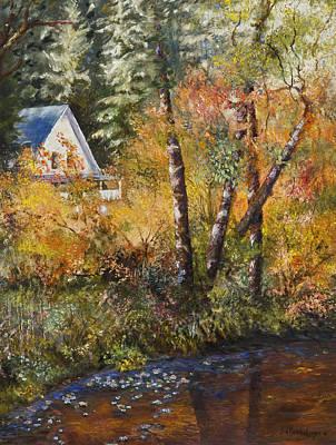 Painting - Peaceful Getaway by Jan Hardenburger