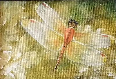 Painting - Peaceful Glory by Peggy Miller