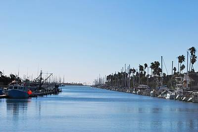 Photograph - Peaceful Harbor View - California Channel Islands by Matt Harang