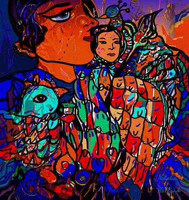 Mixed Media - Peaceful Harmony by Natalie Holland