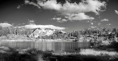 Art Print featuring the photograph Peaceful Lake by Jon Glaser
