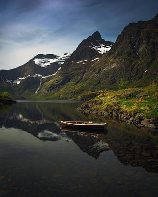 Transportation Royalty-Free and Rights-Managed Images - Peaceful Lofoten by Tor-Ivar Naess
