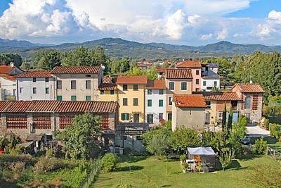 Peaceful Looking Tuscan Homes Art Print