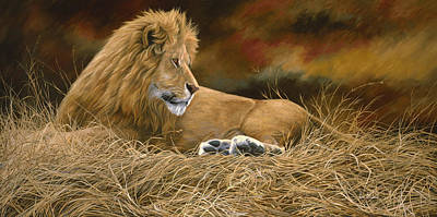 Painting - Peaceful by Lucie Bilodeau