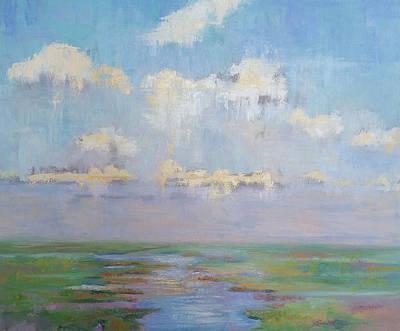 Painting - Peaceful Marsh by Julie Brayton