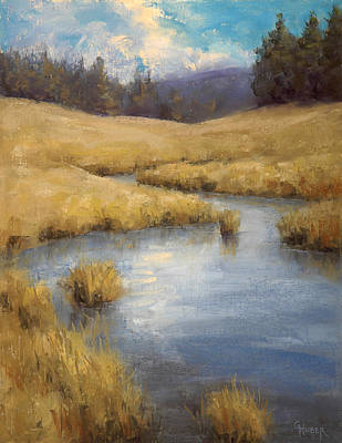 Painting - Peaceful Meanders by Gary Huber