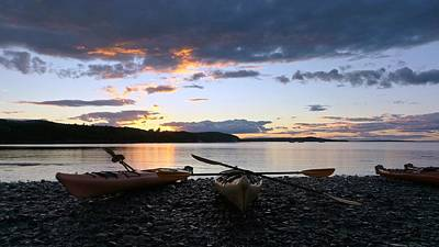 Photograph - Peaceful Moments At Bar Harbor by Mike Breau