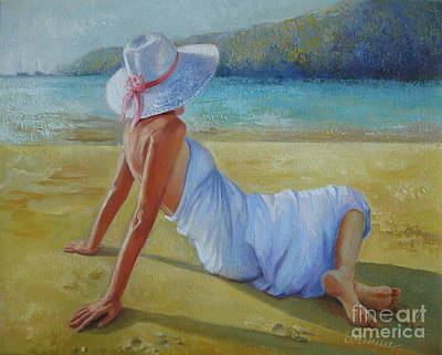 Painting - Peaceful Moments by Elena Oleniuc
