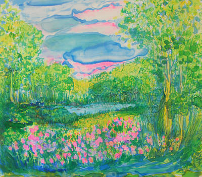 Painting - Peaceful Moments by Susan D Moody