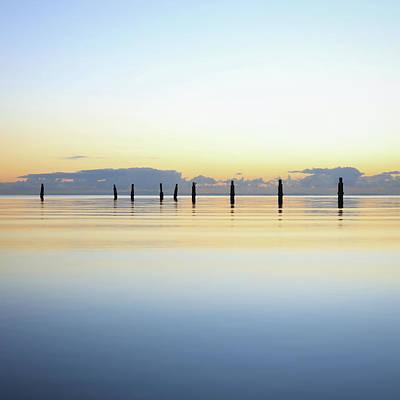 Photograph - Peaceful Morning On Moreton Bay by Keiran Lusk