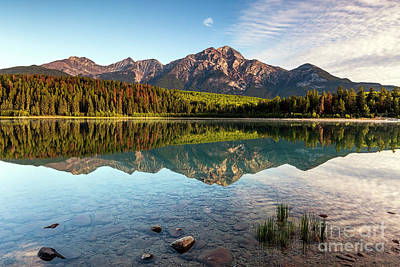 Zen - Peaceful Morning, Patricia Lake by Daryl L Hunter