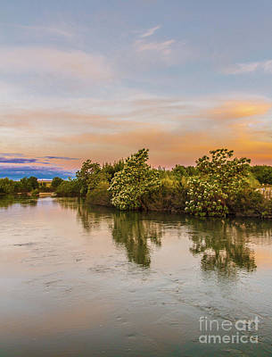 Photograph - Peaceful Morning View by Robert Bales