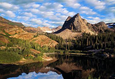 Peaceful Mountain Lake Art Print