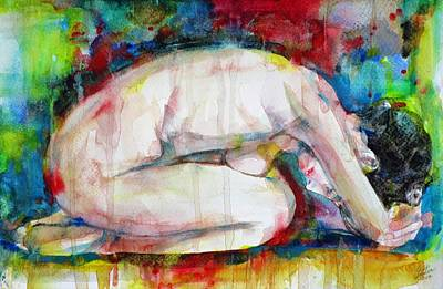 Painting - Peaceful Nude by Fabrizio Cassetta
