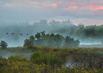 Wall Art - Photograph - Peaceful Ohio Sunrise by Martin Belan