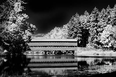 Photograph - Peaceful Old Country Bridge by Paul W Faust -  Impressions of Light