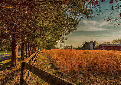 Wall Art - Photograph - Peaceful On The Fam by Cliff Middlebrook