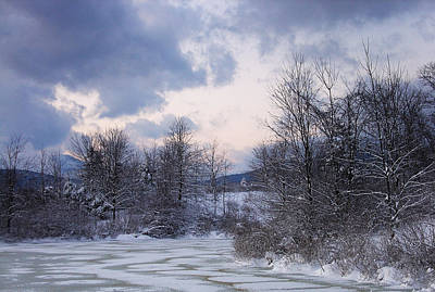 Photograph - Peaceful Pastels Of A Winter Sunset by Terrance DePietro