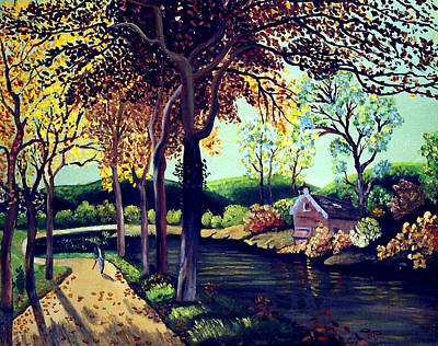 Painting - Peaceful Path To Beauty by JoeRay Kelley
