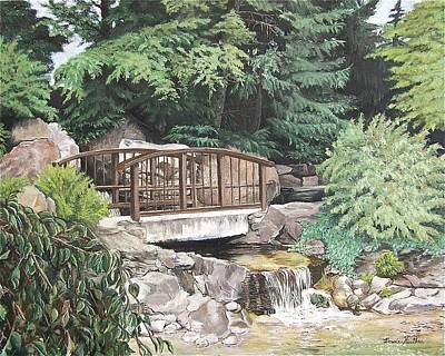 Painting - Peaceful Place by Bonnie Heather