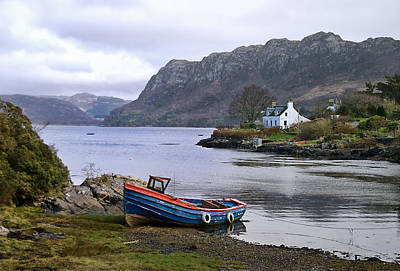 Photograph - Peaceful Plockton by Jacqi Elmslie