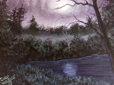 Painting - Peaceful Pond by Dan Wagner