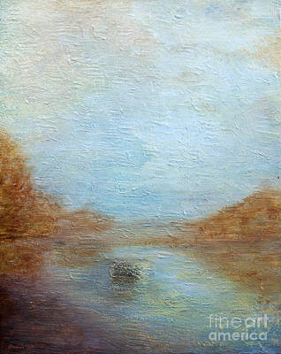 Quietude Painting - Peaceful Pond by Korrine Holt