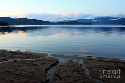 Peaceful Priest Lake Art Print by Carol Groenen