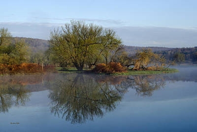 Rollos Photograph - Peaceful Reflection Landscape by Christina Rollo