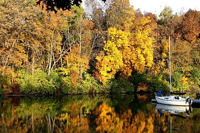 Art Print featuring the photograph Peaceful Reflections by Bruce Bley