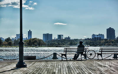 Photograph - Peaceful Relaxing Queens Park Ny by Chuck Kuhn