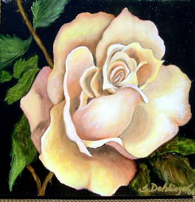 Painting - Peaceful Rose Sold by Susan Dehlinger