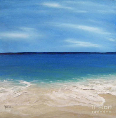 Peaceful Sands Print by JoAnn Wheeler