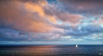Photograph - Peaceful Sea by Endre Balogh