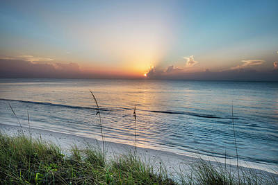 Photograph - Peaceful Seas At Dawn by Debra and Dave Vanderlaan