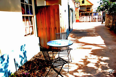 Photograph - Peaceful Shopping Alley by Gina O'Brien