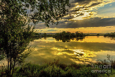 Photograph - Peaceful Snake River by Robert Bales