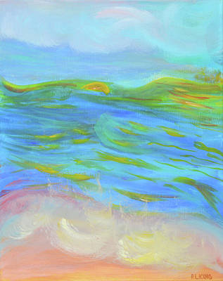 Painting - A Peaceful Soul - Abstract Painting by Robyn King