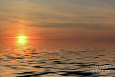 Photograph - Peaceful Sunrise by Kathy Baccari