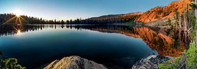 Photograph - Peaceful Sunrise by Leland D Howard