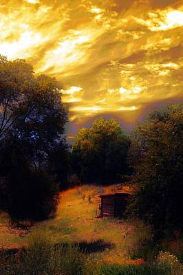 Photograph - Peaceful Sunset by Joseph Frank Baraba