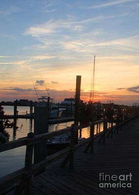 Peaceful Sunset On The Outer Banks - North Carolina Art Print
