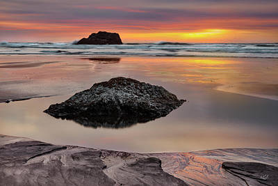 Photograph - Peaceful Tides by Leland D Howard